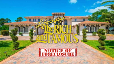 Photo of Foreclosures Of The Rich And Famous