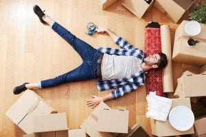 Moving can be stressful
