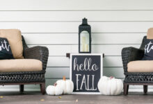 Photo of Fall Is Coming: Home Freshening Ideas